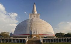 Anuradhapura - this vast mysterious ruined city bears witness to the great sinhalese civilization that flourished here for some two thousand years