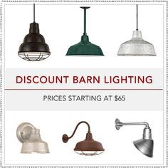 Barn Light Electric Co Has A Great Selection For Lighting That Works In The