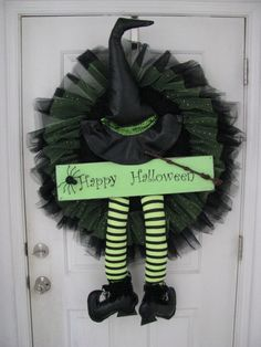 Awesome Halloween Wreath by WildChildWorks on Etsy, $150.00