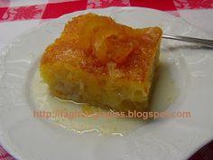 Greek Desserts, Greek Recipes, Eat Greek, Horn Of Plenty, Oranges And Lemons, Quiche, Sweet Treats, Oven, Food And Drink