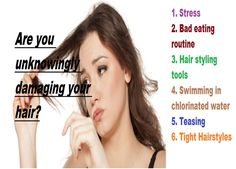 Are You Unknowingly #Damaging Your #Hair