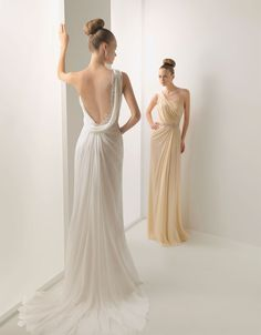 rosa clara wedding dress Backless wedding gown low back bride bridal perfect open back statement sexy wedding dress