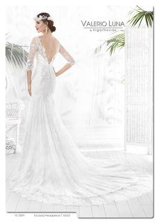 5f255c83b5 Vestido de novia de Valerio Luna para Higar Novias. Colección 2016 Moda  Nupcial