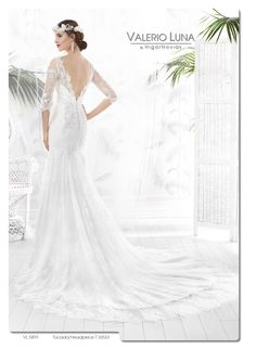 Vestido de Novia de Valerio Luna - VL 5819