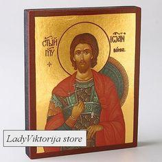 ORTHODOX Icon of John the Warrior / Икона Иоанн Воин
