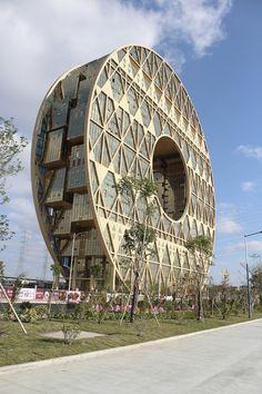 Guangzhou Circle / Joseph di Pasquale architect #architecture ☮k☮