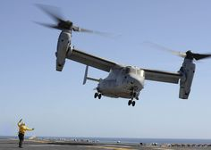 MV-22 Osprey launches from USS Boxer.