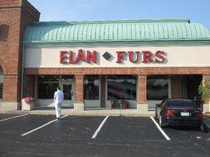 """Elan Furs"" store in the U.S. (Indianapolis)"