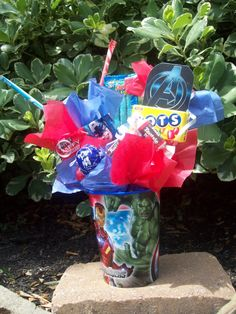 Avengers kid candy party favor