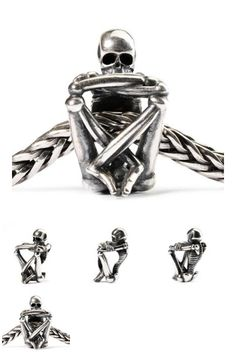 Trollbeads - Skeleton Spirit Bead