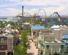 Elitch Gardens is a magnificent amusement park that can be found right in Downtown Denver.