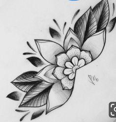 Coming soon for thegrungefashion 3 flower tattoos - sma Vintage Flower Tattoo, Simple Flower Tattoo, Small Flower Tattoos, Flower Tattoo Shoulder, Flower Tattoo Designs, Vintage Tattoo Sleeve, Mandala Tattoo Design, Mandala Art, Dotwork Tattoo Mandala