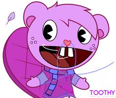 Toothy from the Happy Tree Friends
