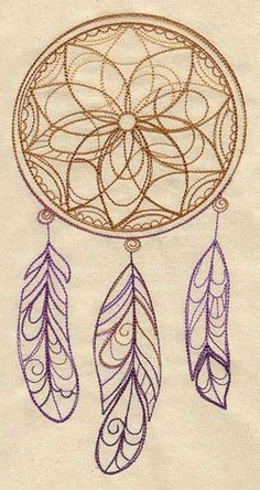 Delicate Dreamcatcher   Urban Threads: Unique and Awesome Embroidery Designs