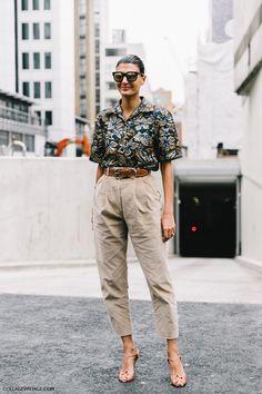 Giovanna Battaglia, London Fashion Week SS17