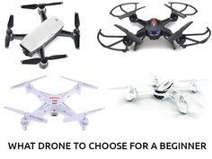 What Drone To Choose For A Beginner - http://www.best-quadcopter.com/buying-guide/2017/09/what-drone-to-choose-for-a-beginner/