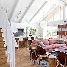 A Vaulted & Vibrant Los Angeles Home