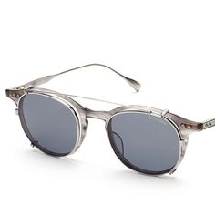 The matte grey Ash with an antique silver clip. An ultra lightweight frame with quality beyond compare. #DITAeyewear