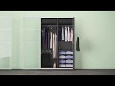Interior organizers for PAX - PAX system - IKEA for my storage wall! Ikea Storage Shelves, Ikea Storage Cubes, Ikea Kids Storage, Bedroom Storage, Storage Drawers, Closet Storage Systems, Wardrobe Systems, Pax Wardrobe, Ikea Closet