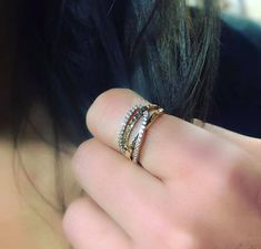 Bague en or jaune avec cubiques zirconium Zirconium, Boutique, Earrings, Jewelry, Fashion, Yellow Gold Rings, Fishing Line, Ear Rings, Moda