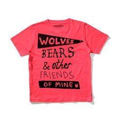 Munster - Wolves, Bears and Other Friends of Mine Tee