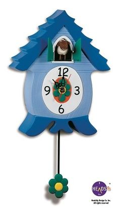 Cuckoo Kingdom, Inc - Ewenis Wooley in the EweCoo Clock, Sheep Coo Clock, Model