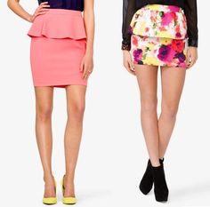 Che gonna sei? Lunga, mini o midi? #gonna #skirt #fashion #moda