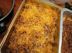 Lawnmower Tacos - super super easy and pretty tasty (serve with salsa and sour cream) but more like nachos than a real dinner entree Freezer Cooking, Freezer Meals, Cooking Recipes, Freezer Recipes, Cooking Ideas, Freezer Dinner, Bulk Cooking, Taco Dinner, Cooking Photos