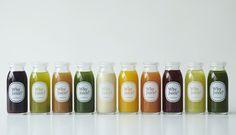 無農薬、減農薬の野菜とフルーツで作る、コールドプレストジュースでおいしく、健康に!