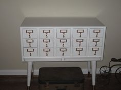 Card Catalog w/ different legs...