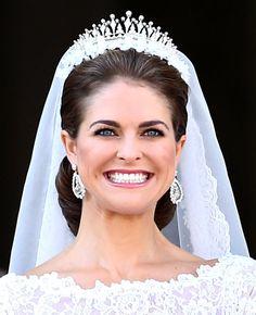 Pics: Princess Madeleine of Sweden's Valentino Wedding Dress