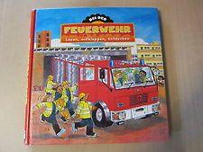 Baby Kinder Buch Bei der Feuerwehr lesen, aufklappen, entdecken