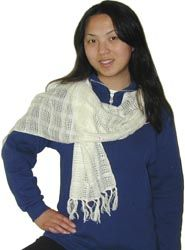 Handwoven Cotton Scarves and Shawls from Dharma Trading Co.