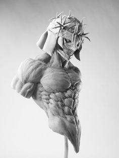 """""""刀剣乱舞の小狐丸"""" 3d Model Character, Character Modeling, Character Art, Zbrush, Anatomy Drawing, Anatomy Art, Anatomy Sculpture, Anatomy Poses, Anatomy For Artists"""
