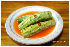 [오이 물김치] 여름 김치 - 오이 물김치 만들기 – 레시피 | 다음 요리
