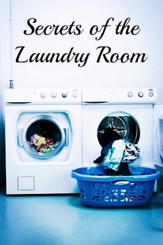 Use these handy tricks to get clean clothes without harming your family. The Best Laundry Room Ever!