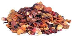 Pure Comfort Fruit Tea | Orthodox Tea  The flavours of cozy winter delights can be enjoyed all year around. A soothing experience for the senses and the soul. This tea pleases with satisfying flavours of fruit, cinnamon, almonds and vanilla. Ingredients : apple chunks, hibiscus blossoms, rose hip, almonds, cinnamon, rooibos, natural flavour, vanilla pieces.