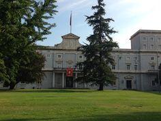 El edificio Central de la Universidad de Navarra #Pamplona (vía Twitter: @ tgacebo )