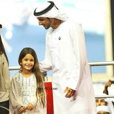 Al Jalila bint Mohammed y Hamdan bin Mohammed bin Rashid Al Maktoum, DWC, 03//2014.  Foto: Ahmed Ali (adoalfares)