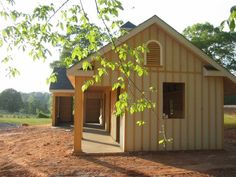 side view- shedrow barn...perfect for southern alabama