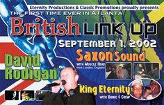 """""""British Link Up"""" David Rodigan, Saxon, King Eternity @ Atlanta 2002"""