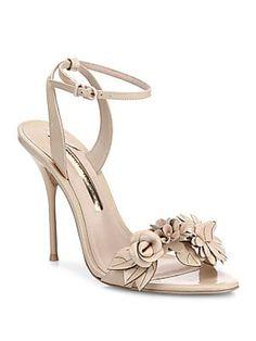 cbc3322c9b9753 Sophia Webster - Lilico Flower Embellished Leather Sandals