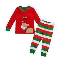 EITC Cute Christmas 2 Piece Cotton Pajama Set T-Shirt+Long Pants 4T Red Excellent International Trading Co., Ltd. http://www.amazon.com/dp/B016OG2MJU/ref=cm_sw_r_pi_dp_vdVywb1MD5KW5