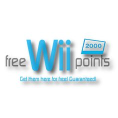 We have free Wii Points codes! Visit our unique website today and get your free Wii points card codes guaranteed!