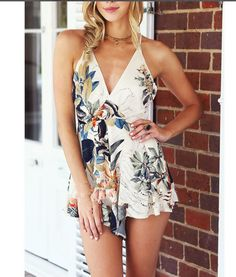 Colorize Fashion Jumpsuit- Flower in the mood