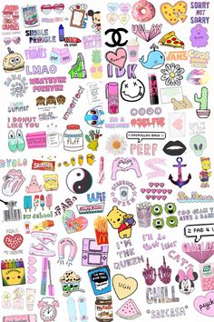 A lot of stickers Printable Stickers, Cute Stickers, Planner Stickers, Phone Stickers, Emoji Wallpaper, Tumblr Wallpaper, Cute Backgrounds, Cute Wallpapers, Tumblr Roses