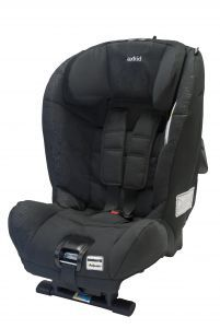 Extended rear-facing car seat Axkid Minikid £295 - has passed the Swedish Plus Test, the strictest car seat standard