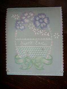 Hand made Easter Cards. by Craftsbylindyloo on Etsy
