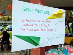 Airplane birthday party games