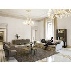 Felix Coffee Table, Glamour Living Room Design at Cassoni.com